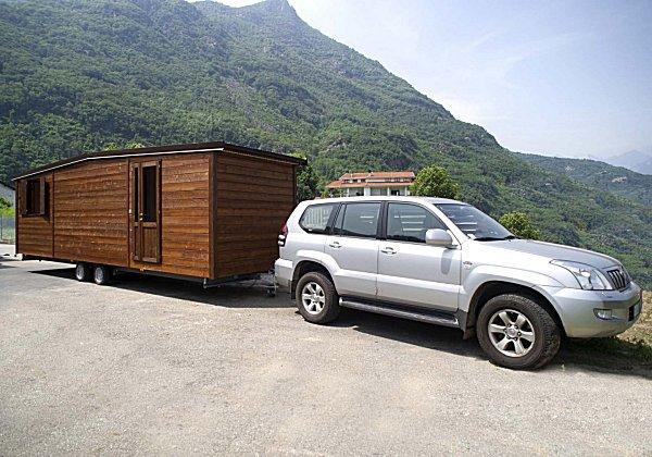 Case mobili su ruote le case possono essere realizzate su un terreno non edificabile ho un - Casa su ruote su terreno agricolo ...