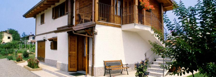 Case abitative for Casa in legno tradizionale