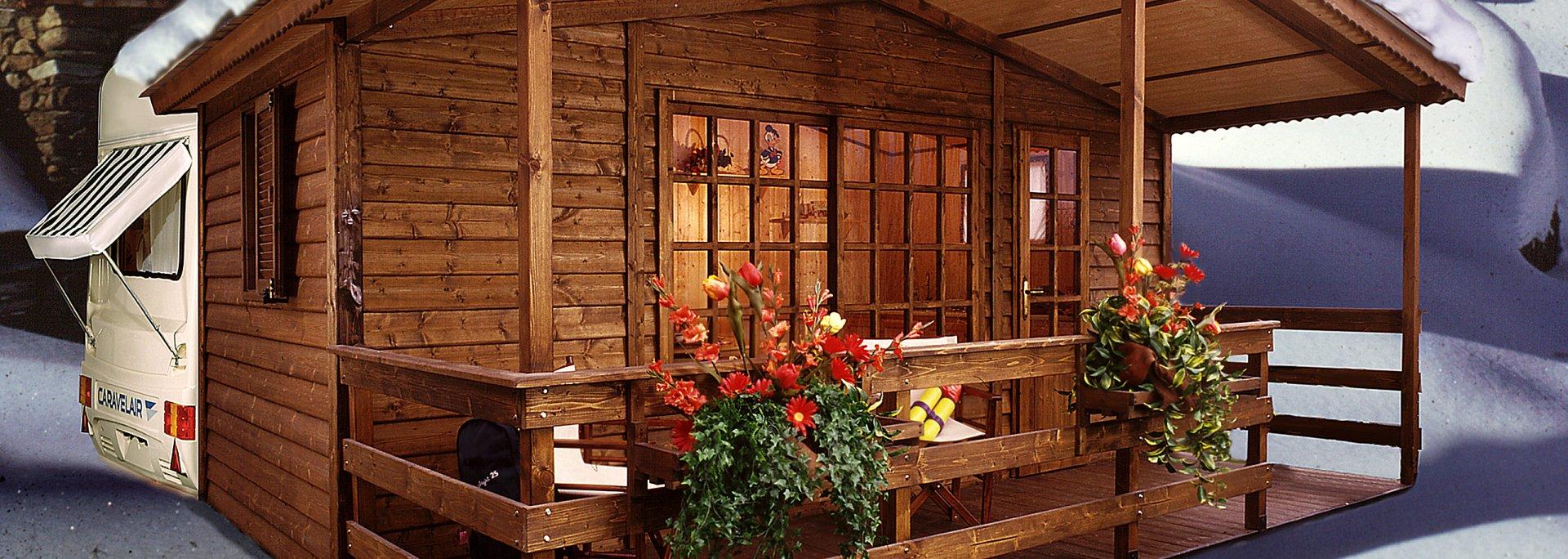 Clemente prefabbricati in legno case mobili bungalow for Regalo casa mobile