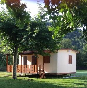 Casa mobile intonacata al quarzo